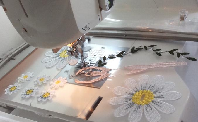 Custard Dragons needs a new embroidery machine