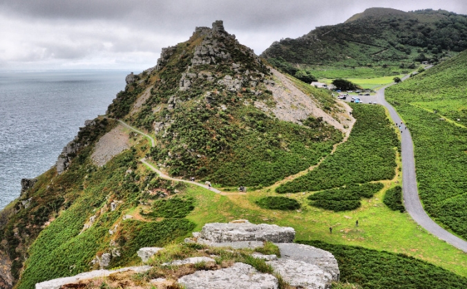 New Open-air Theatre in The Valley of the Rocks
