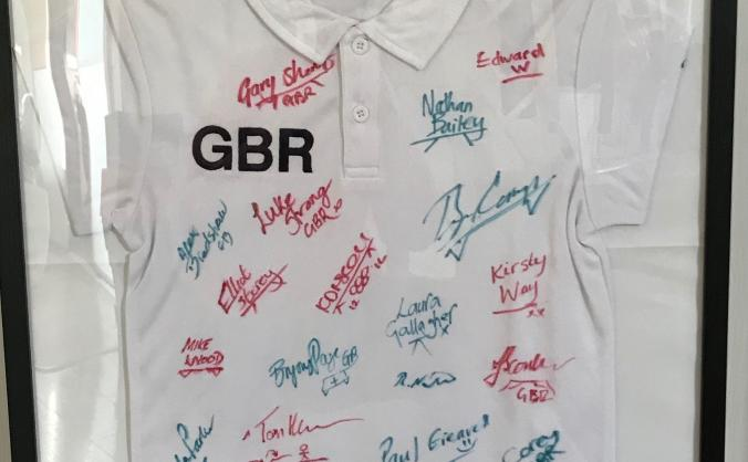 Signed GBR T-shirt Raffle