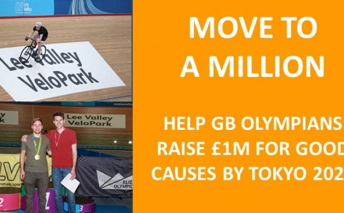 Help GB Olympians raise £1 million for good causes