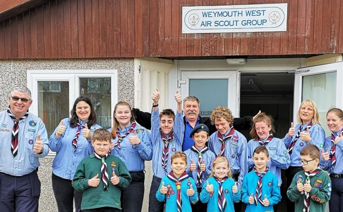 Weymouth West Air Scout Group HQ Extension project