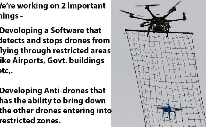 Anti-drone system research and development