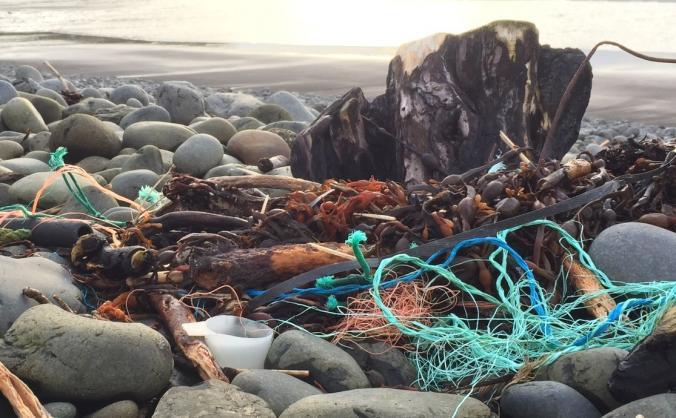 Skye Beach Clean Boat