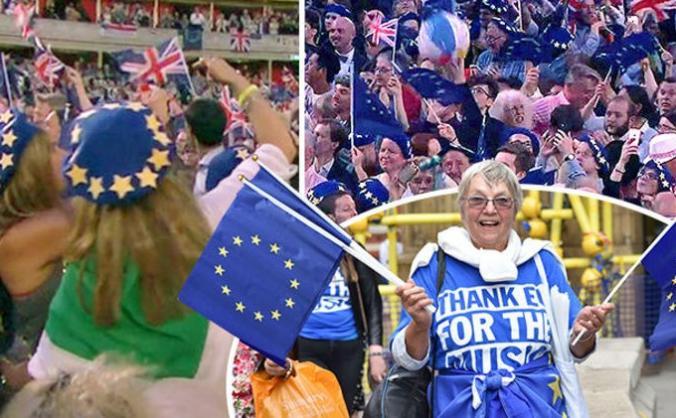 BBC Last Night Proms 2019 - Hall Flags