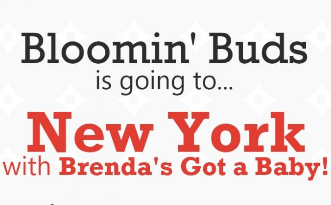 Bloomin' Buds is going to New York!