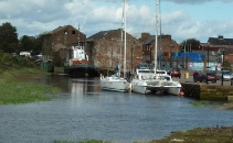 Annan Harbour reopening