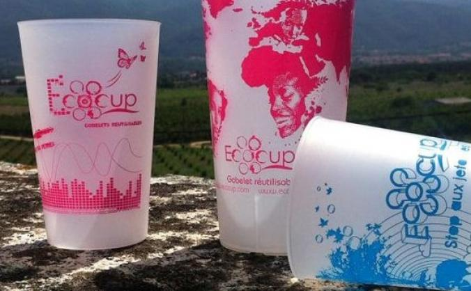 Ecocups at the Folkestone Harbour Arm