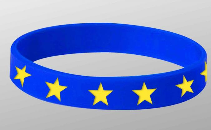 12 STAR EU WRISTBANDS