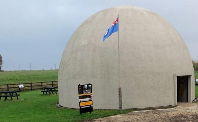 Langham Dome Spitfire Memorial