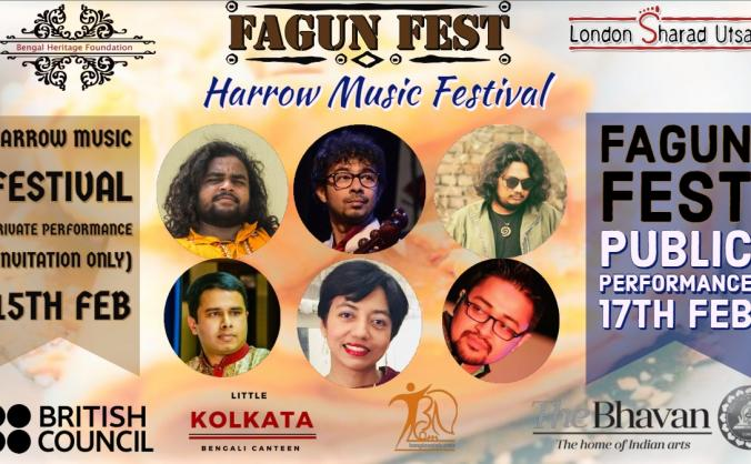 Harrow Music Festival - Fagun Fest 2019
