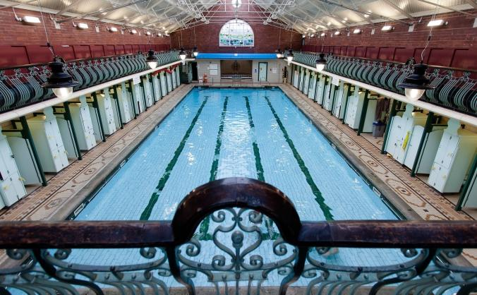 Bramley Baths Disabled Pool Hoist