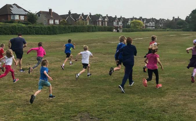 Running Track for Herne Junior School