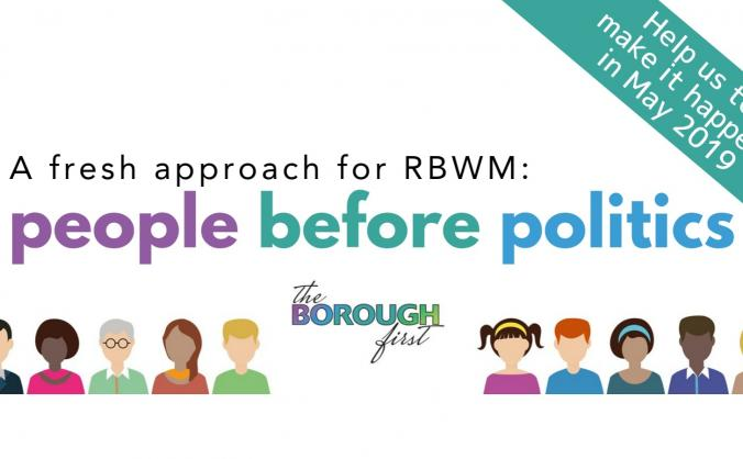 Fundraising to put 'the BOROUGH' first in RBWM