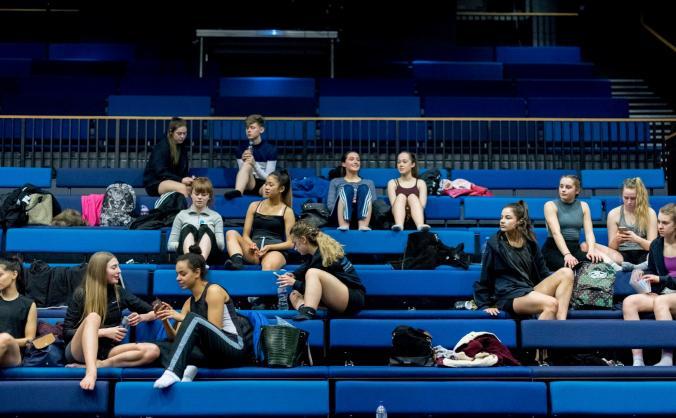 Dance City 'Take a Seat' Campaign