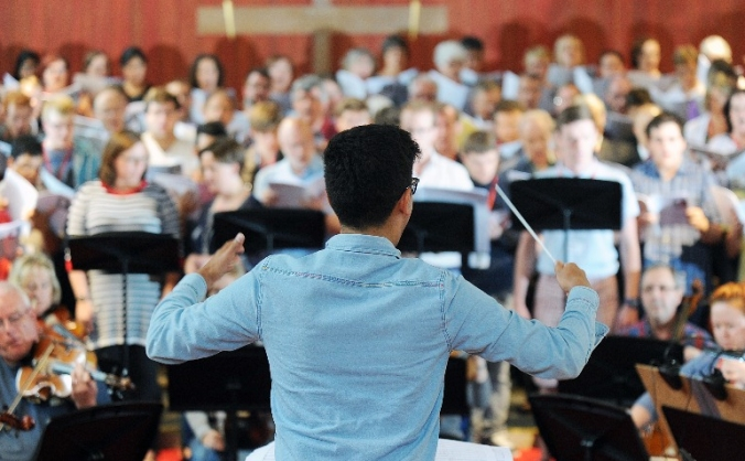 Support our Young Conducting Scholars for 2016-17