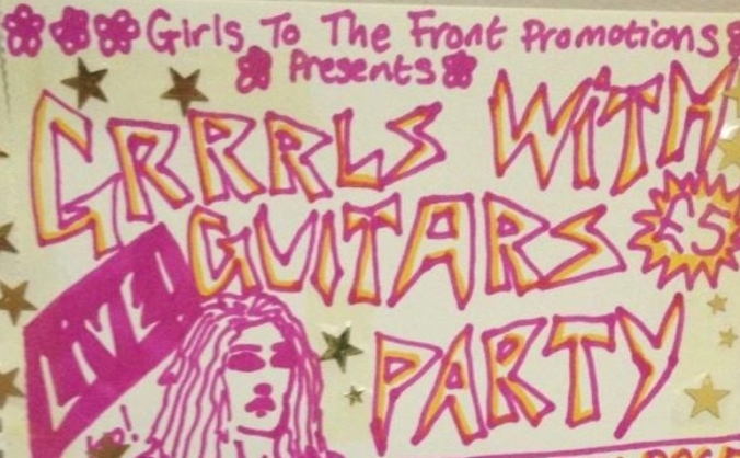 GRRRLS WITH GUITARS PARTY