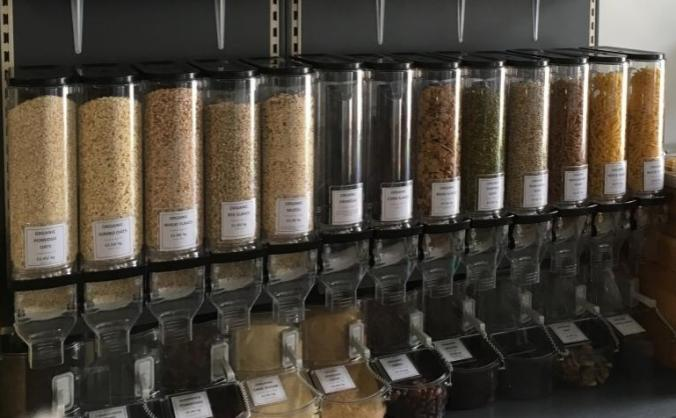 The Organic Food Store's Zero Waste Project