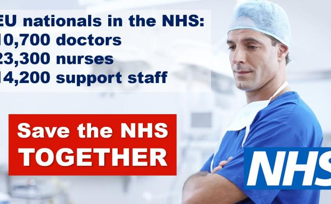 Save the NHS, together