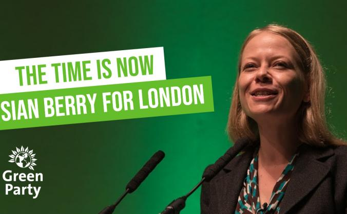 Siân 2020: let's elect London's first Green Mayor!