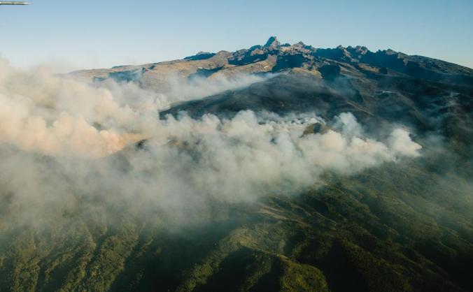 Mount Kenya Fires