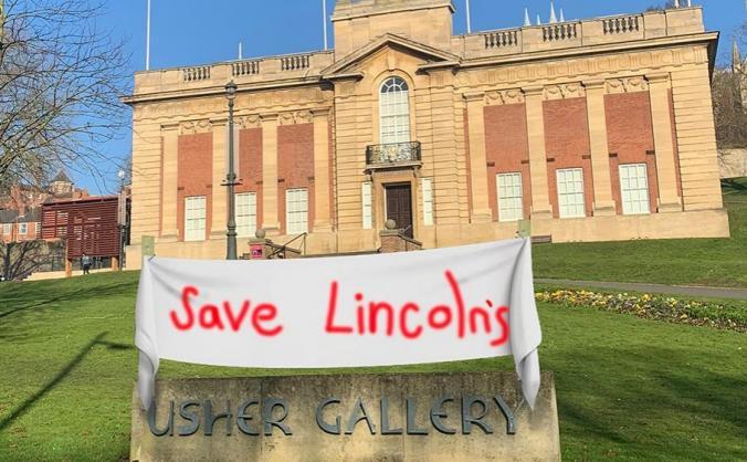 Save Lincolnshire's Usher Gallery (SLUG) Campaign