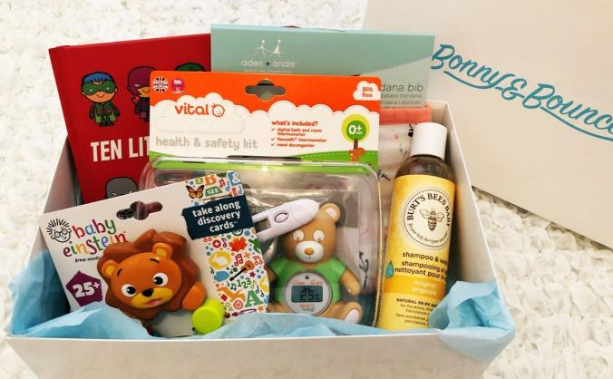 Bonny and Bounce - Premium baby subscription box