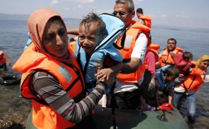 Lifesaving Aid for Refugees in Lesbos, Greece