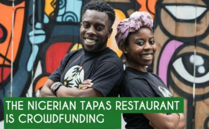 Nigerian Tapas Restaurant - £30k in 30 days