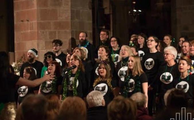 The Phoenix Community Choir Edinburgh EP Recording