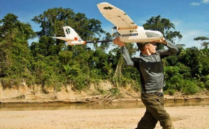 Indigenous & eco-friendly Amazon Drone Prototype
