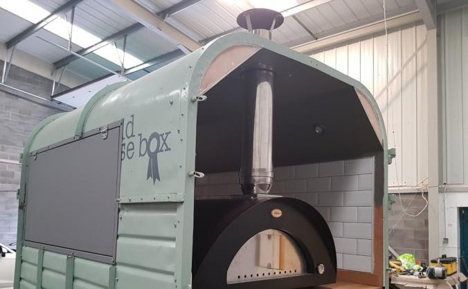 Perthshire's first Wood Fired Pizza Horsebox!