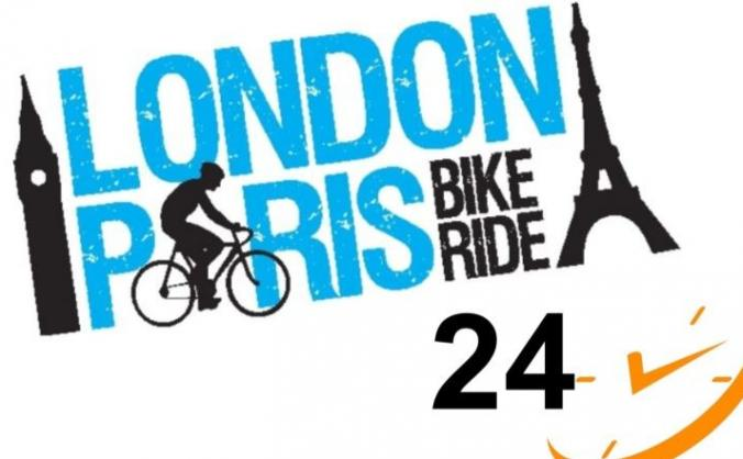 London to Paris cycle ride in less than 24 hours