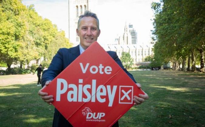 Support Ian Paisley MP