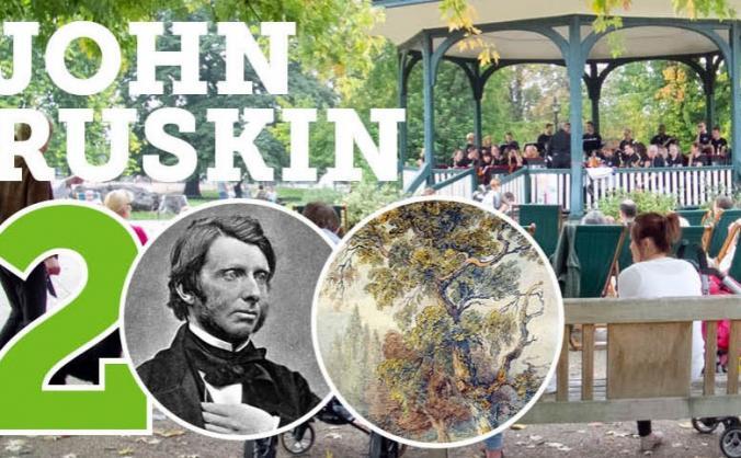 John Ruskin's Bicentenary in Ruskin Park