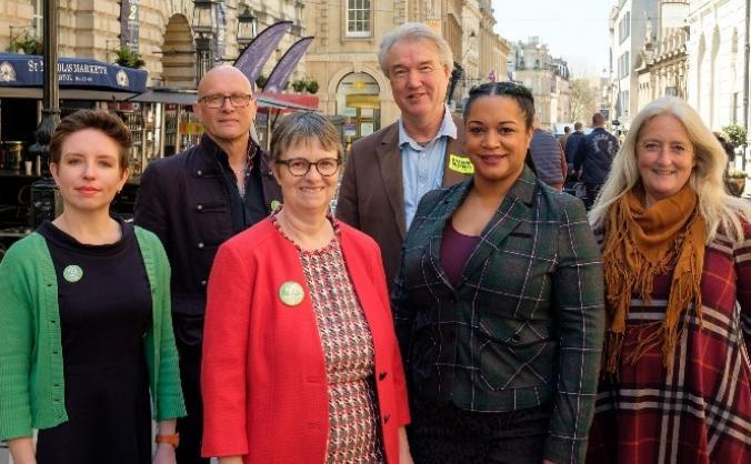 Re-elect Molly Scott Cato MEP