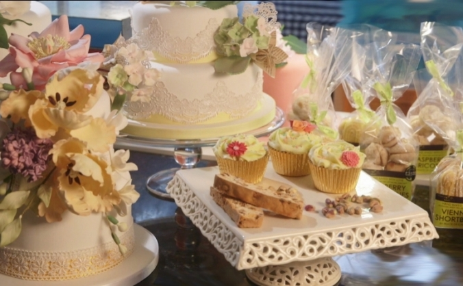 Glamorous Free From Baking from Peace Of Cake London