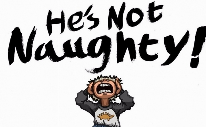 He's Not Naughty! Autism Awareness