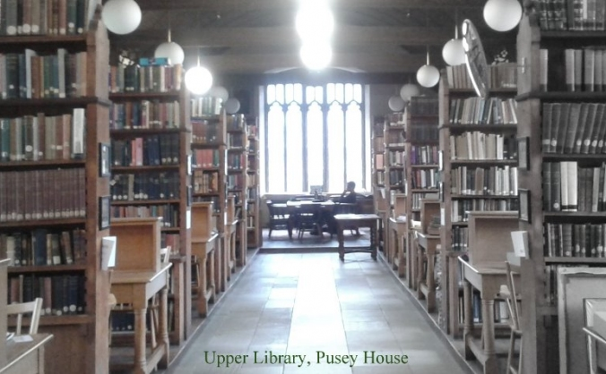 Fund a library intern at Pusey House