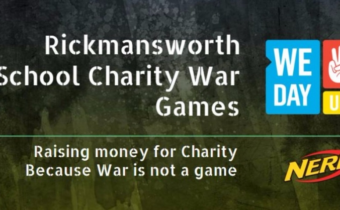 Rickmansworth School Charity War Games