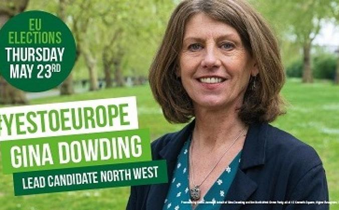 Help Elect the NW of England's First Green MEP