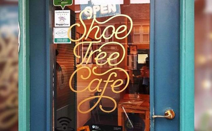 Support Shoe Tree Cafe