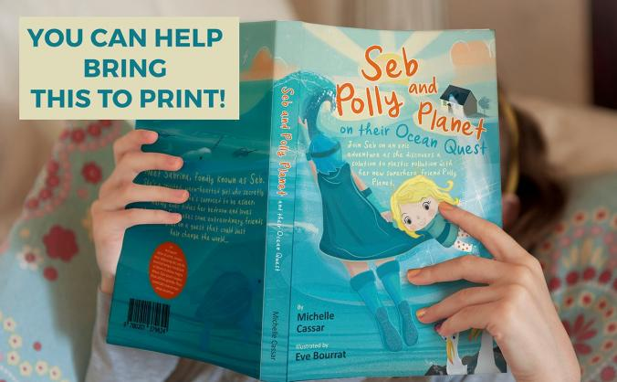 Seb and Polly Planet a solution focused kids book.