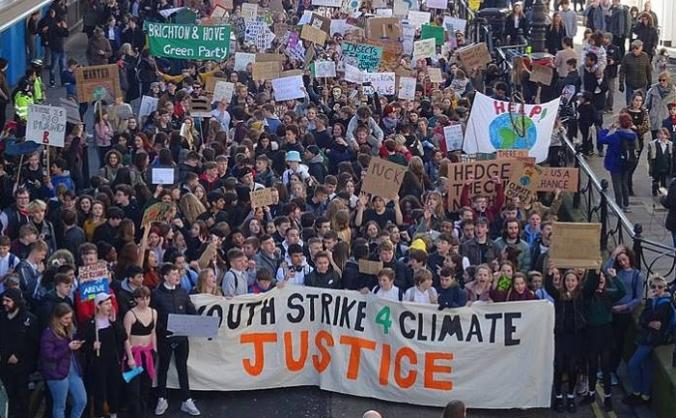 Youth Strike 4 Climate Brighton