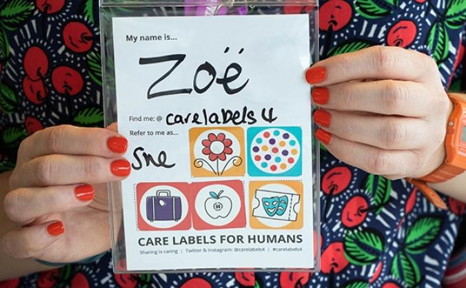 Care Labels For Humans