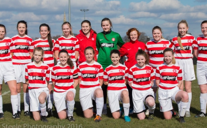 Accies Girls FC - Telstar Academy Cup, Holland