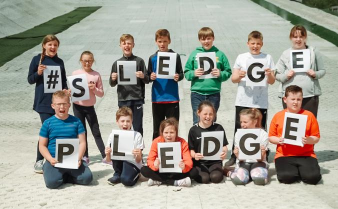 #SLEDGEPLEDGE Bring Fun & Opportunity to Ayrshire