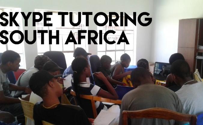Skype Tutoring Friends in South Africa