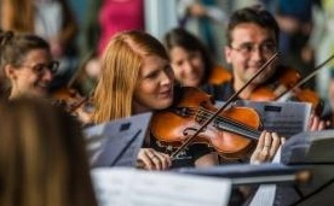 Aldworth Philharmonic at Reading Station 20th July
