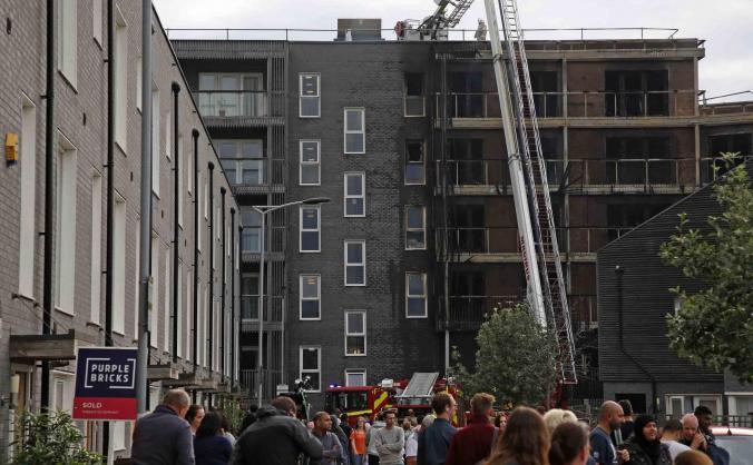Help for Families: Barking Riverside Fire
