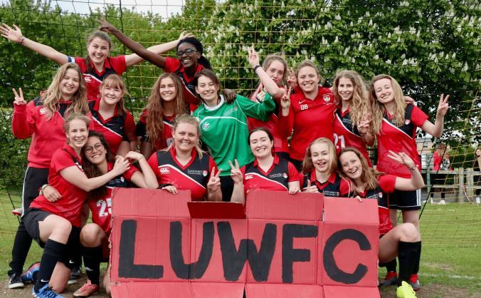 LUWFC's 2nds in BUCS